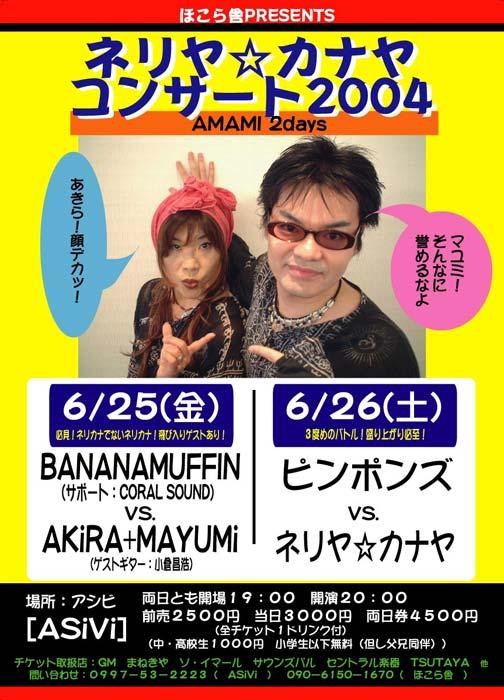 奄美ツアー2004ライブ