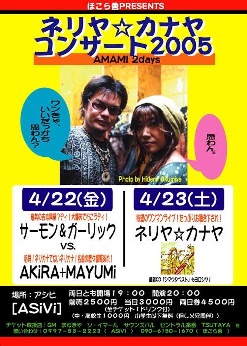奄美ツアー2005ライブ